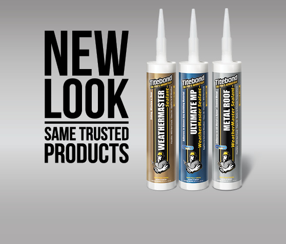 Same Trusted Sealants  - All With a New Look!