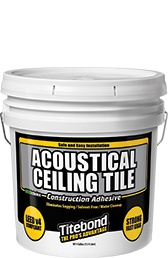 GREENchoice Acoustical Ceiling Tile Construction Adhesive